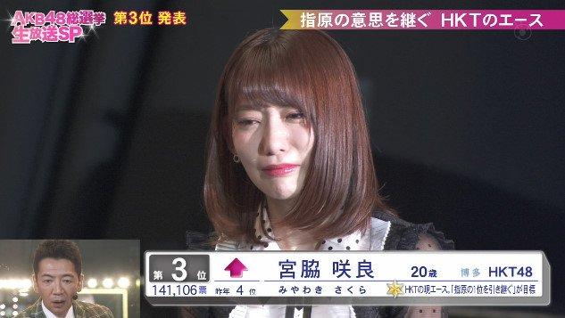 HKT48・宮脇咲良が総選挙2018で3位の理由は? 指原の後を継ぐ